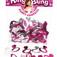 Bride-to-be Ring Bling Party  Confetti