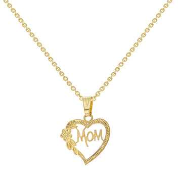 Best Small Gold Heart Necklace Products on Wanelo