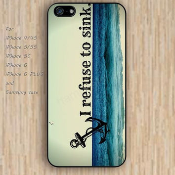 iPhone 5s 6 case colorful Anchor Sea pattern phone case iphone case,ipod case,samsung galaxy case available plastic rubber case waterproof B332