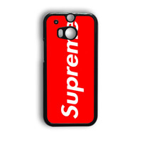 Supreme New York Clothing Skateboarding HTC One M9 Case