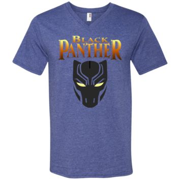 BLACK PANTHER T Shirt 2 982 Anvil Men's Printed V-Neck T-Shirt