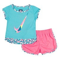 Nike Confetti Tee & Shorts Set - Girls