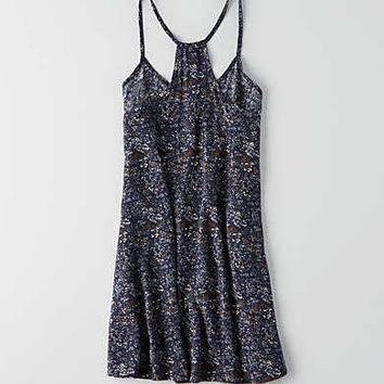 Don't Ask Why Racerback Slip Dress, Navy