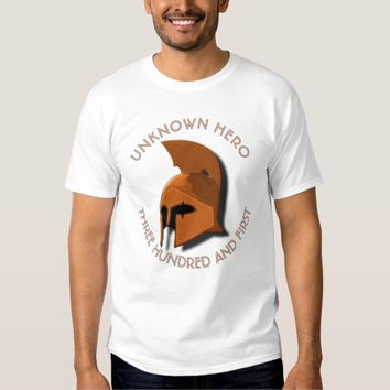 Unknown Spartan 301th Hero Greek Helmet T Shirt