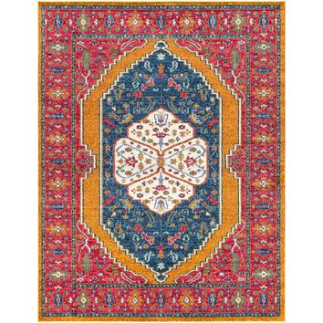 Surya Anika Rug | Bright Red