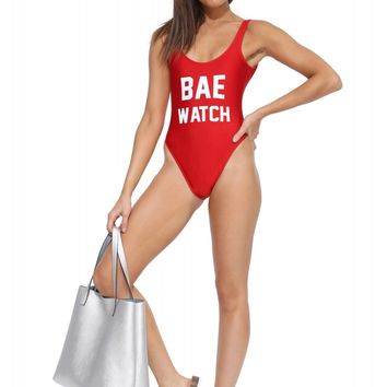 Private Party Bae Watch Bathingsuit