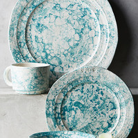 Marbled Glenna Dinner Plate