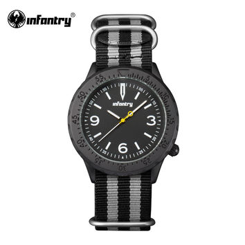 Mens Quartz Wristwatches Outdoor Luminous Watches Ultra Thin Fabric Strap  Watch for Male