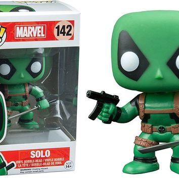 Solo Deadpool Hot Topic Toys Exclusive Funko Pop! #142