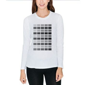 CREYON Valentine's Day 50 Shades of Grey Juniors Long Sleeve T-Shirt