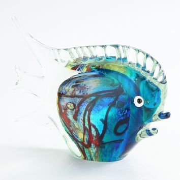 Tropical Hand-Blown Fish