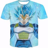 Vegeta Super Saiyan God T Shirt