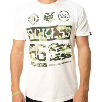 Young & Reckless Men's Rank And File Graphic T-Shirt
