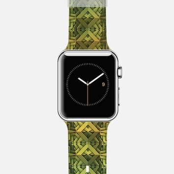 Geometric Snakeskin Apple Watch Band case by Lyle Hatch | Casetify