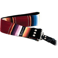 """Capturing Couture Artisan Collection: Navajo Red 2"""" SLR/DSLR Camera Strap"""