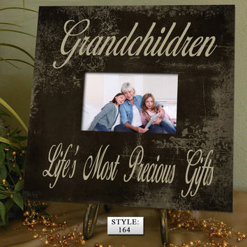 GC Gift for Grandparents, Grandma gift, Grandpa gift, Grandchildren Photo Frame, Grandchildren Picture Frame, Grandchildren Sign