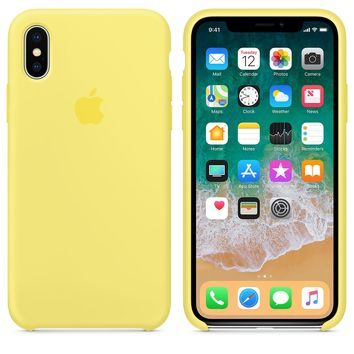 iPhone X Silicone Case - Marine Green