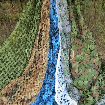 VILEAD 9 Colors 3.5M*5M Camouflage Netting Reusable Camo Net for Hunting Jungle Shade CF Game Party Decoration Outsaide Shade