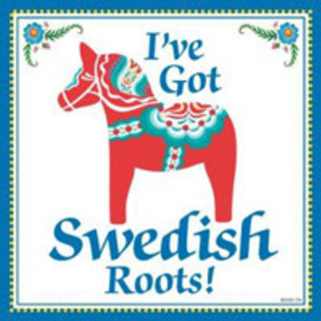 Kitchen Wall Plaques: Swedish Roots