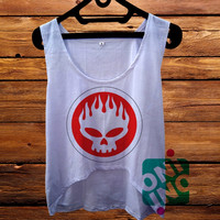 The Offspring Logo Crop Tank Women's Cropped Tank Top
