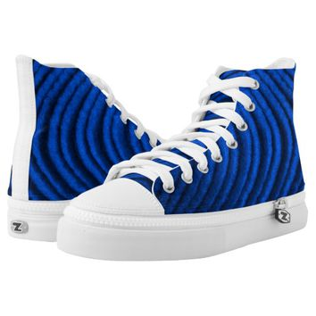 blue wave High-Top sneakers
