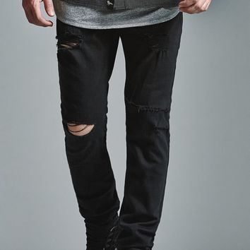 Bullhead Denim Co. Black Ripped Skinny from PacSun