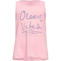 O'neill Ocean Vibes Girls Tank Lilac  In Sizes