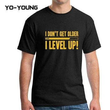 """I Level Up"" Unisex Tops Tees T-Shirts"