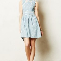 Chambray Dot Dress by Dear Creatures Blue
