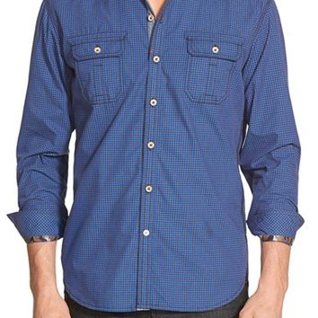 Men's Robert Graham 'Halifax' Tailored Fit Gingham Sport Shirt,