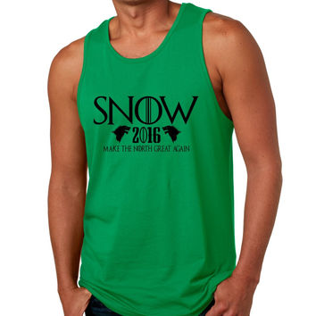 Snow 2016 Make The North Great Again men jersey tank top