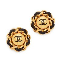 Chanel Chain Round Earrings (Previously Owned)
