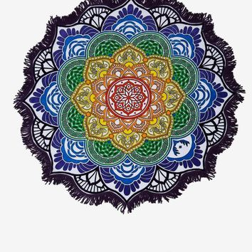 Vagabond Magic Mandala Beach Towel