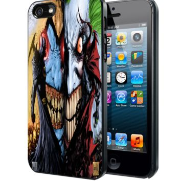 Spawn and Batman Samsung Galaxy S3 S4 S5 S6 S6 Edge (Mini) Note 2 4 , LG G2 G3, HTC One X S M7 M8 M9 ,Sony Experia Z1 Z2 Case