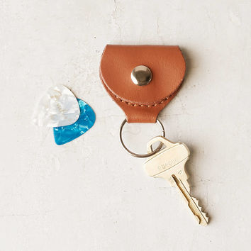 Guitar Pick Holder Keychain | Urban Outfitters