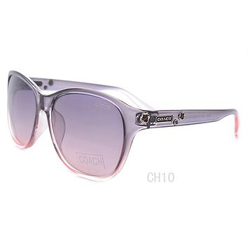 Coach Stephanie HC7025 9001T3 Silver / Grey Gradient Polarized