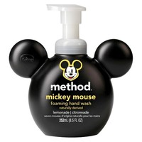 method foaming hand wash kids mickey mouse 8.5oz