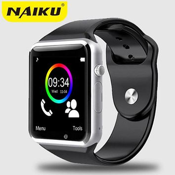 2016 New Smart Watch NK1 With Camera Bluetooth WristWatch SIM Card Smartwatch For Ios Android Phones Support Multi languages