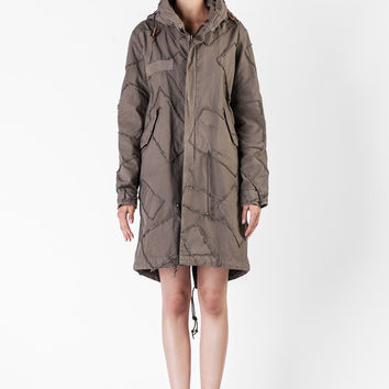 Mr. & Mrs. Italy  - Green Parka