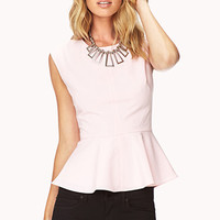 Sweet Peplum Top