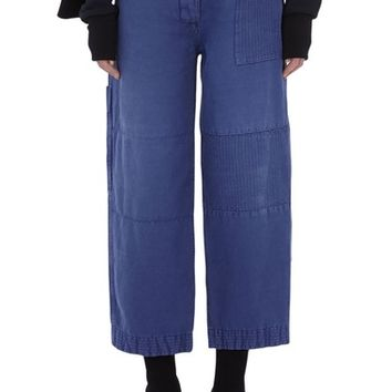 Burberry Crop Workwear Pants | Nordstrom