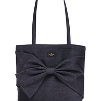 Kate Spade On Purpose Rich Navy Denim Tote Rich Navy ONE