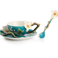 Van Gogh Almond Flower Cup Set