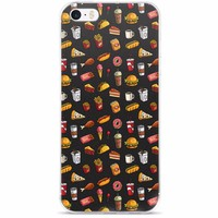 Fast Food Madness iPhone 5/5s/Se, 6/6s, 6/6s Plus Case