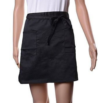 Half Apron With 2 Pockets, 1 Pack