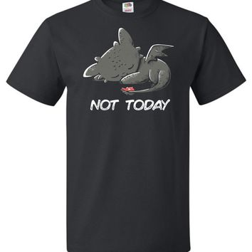 Toothless Not Today Unisex T-Shirt