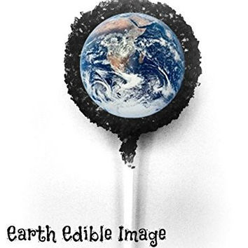 PLANET EARTH White Chocolate Covered Oreo Cookie Pops