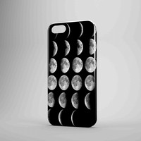 Moon Phases Lunar Phases iPhone Case Galaxy Case 3D Case