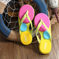 Colorful Flip-Flops Slippers B007650