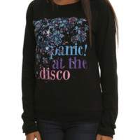 Panic! At The Disco Floral Girls Pullover Top